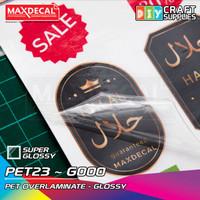 MAXDECAL Stiker Laminasi Glossy Waterbase A3 32x48cm PET23 ECER