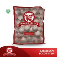 BAKSO DAGING SAPI POLOS SUMBER SELERA 650GR BEEF MEATBALL 50PCS HALAL