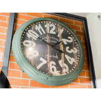 Jam Dinding / Clock Model GC Station NewYork - Diameter 90cm
