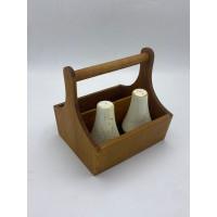 HOMEWARE DEPO - BASKET SMALL WOODEN