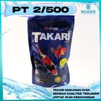 Takari Makanan Ikan Hias 500 gram Pelet 2 MM / 5 MM