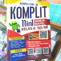 buku kelas 6 SD latihan soal bahasa Indonesia matematika IPA Jitu