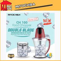 Chopper Blender Mitochiba New CH100 kapasitas 1.5 Liter - Red Ruby