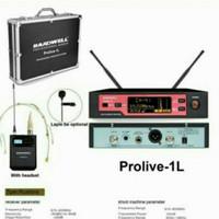 Mic Wireless Hardwell Prolive-1L Ori - Single Mic/1buah Mic Clip on