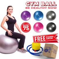 Gym ball Speeds Ibu Hamil / Bola Gym Ukuran 75cm Bonus Pompa
