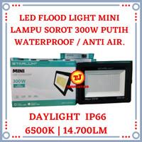 Lampu Sorot LED 300W Mini Flood Light 300 W Tembak Outdoor 300 Watt