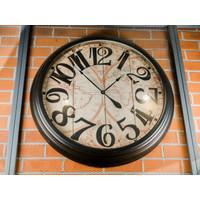 Jam Dinding / Clock Model Peta Dunia Globe - Diameter 90cm