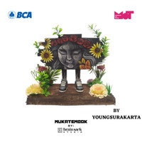 MUKATEMBOK by Brainsack CUSTOM - Flower on Wall Optimisme