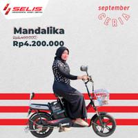 Sepeda listrik Selis tipe Mandalika