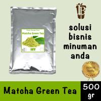 Pure Matcha Green Tea Powder. essence murni bubuk impor kualitas bagus