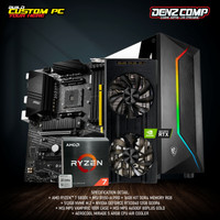 MSI GAMING PC - AMD RYZEN 7 5800X (RTX 3060 12GB) RAM 16GB - SSD 512GB