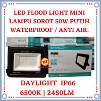 Lampu Sorot LED 50W Mini Flood Light 50 W Tembak Outdoor 50 Watt