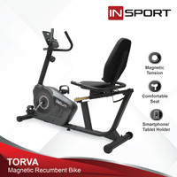 Alat Fitness Recumbent Bike Insport Torva Sepeda Fitness