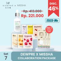 MISSHA (Set 7) : Essence +6 Airy Mask + 3 Mask KF80