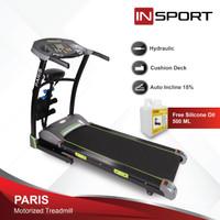 Alat Fitness Treadmill Elektrik Insport Paris