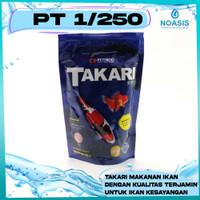 Takari Makanan Ikan Hias 250 gram Pelet 1 MM / 2MM