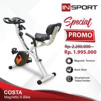 Alat Fitness Magnetic Bike Insport Costa X Sepeda Fitness