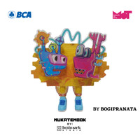 MUKATEMBOK by Brainsack CUSTOM - I Hate Mathematics I Love Hotwheels