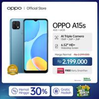 OPPO A15S Smartphone 4GB/64GB (Garansi Resmi)