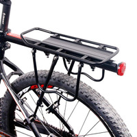 JFactory Boncengan Sepeda Bicycle Luggage Carrier Quick Release Hitam