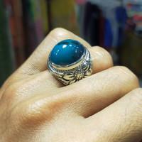 cincin batu bacan Doko gulau super kristal ,,asli100%,,natural 100%