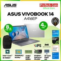 ASUS VIVOBOOK 14 A416EP I5-1135G7 4GB 512GB MX330 2GB 14 FHD OHS W10