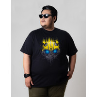 Kaos Pria Lengan Pendek Big Size BIG ORET / BUMBLEBEE