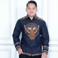 Kemaja Batik Motif Bhineka/kode 10FULL puring