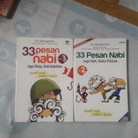 buku religi .33 pesan nabi dalm komik .vol 1dan2