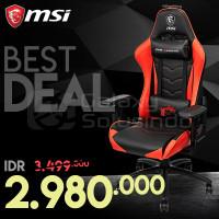 Kursi Gaming MSi MAG CH120 Gaming Chair