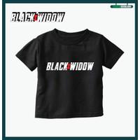 Kaos Baju Black Widow Blackwidow Anak - 2