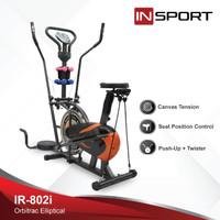 Alat Fitness Elliptical Insport 802i Orbitrac Sepeda Fitness