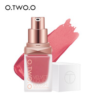 O.TWO.O Liquid Blush On Long Lasting Natural Blusher Face Cheek Makeup