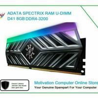 Desktop RAM UDIMM 3200 ADATA D41 16GB SPECTRIX Dual (8GB x2) Grey