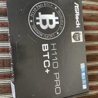motherboard asrock h110 pro btc+