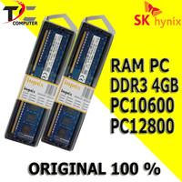 Memory RAM PC DDR3 4GB PC-10600 HYNIX