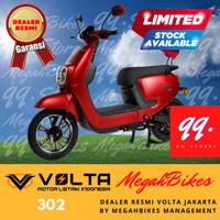 VOLTA Sepeda Listrik (Selis) - Tipe 302 - Merah/Putih/Hitam