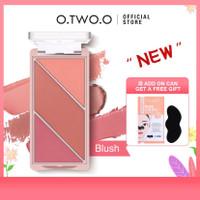 O.TWO.O Multi-use Blusher Highlighter Contour Blush on Makeup Palette