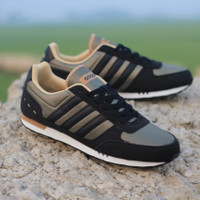 Sepatu Adidas Neo city racer green original made in indonesia - 40