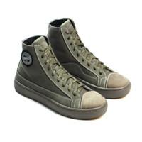 Sepatu Sneakers Kulit Pria Exodos57 Lampero Olive