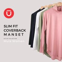 Mūla Women Slim-Fit Coverback Manset - Nude Pink, M