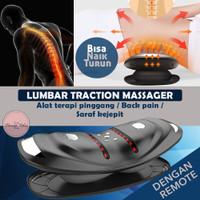 READY STOCK Lumbar traction massager alat pijat terapi pinggang saraf