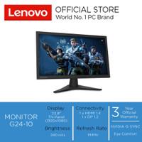 "Lenovo Monitor Gaming G24-10 23.6"" FHD TN Panel 144Hz"