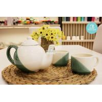 MMS Kanset Claudia/Cangkir Set Keramik Motif