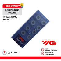 Insert Round Milling RDKW 1204MO YG602 YG1