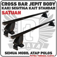 Sunrise Crossbar Jepit Body Kaki Segitiga - Cross Bar