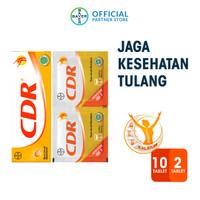 CDR Suplemen Kalsium Rasa Jeruk 10 Tablet & 2 Sachet