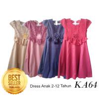 PROMO Dress Anak Perempuan 4-12 tahun Dress Princess Baju Pesta KA64