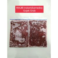 Cacing Beku, Cacing Darah, Frozen Bloodworm LEMPENG EKONOMIS 100 gram