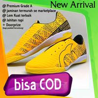 TERMURAH PROMO COD Sepatu Futsal Ortuseight Kuning Premium footsal